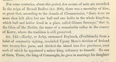 Bresail Bodivo and the cattle famine - Annals of Clonmacnoise