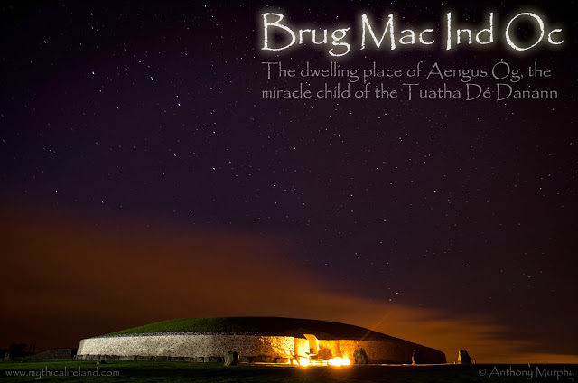 Two ancient names for Newgrange