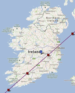 International Space Station to pass in front of moon as viewed from Ireland tonight