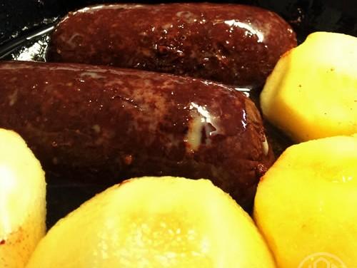 An ingrediant of Irish Breakfast for Dinner