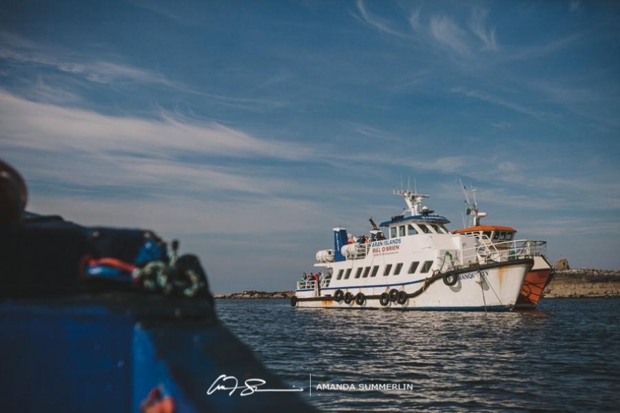 Cliffs of Moher | Aran Islands Wedding | Laura and Mitch
