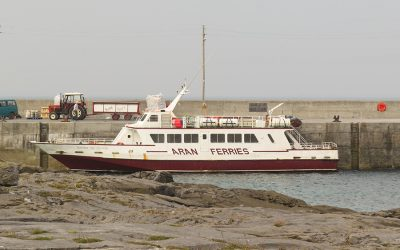 Getting  to Inis Oírr  by Ferry or Air